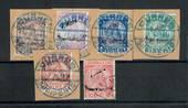 ALBANIA 1914 Arrival of Prince William of Wied. Set of 6. - 20039 - Used