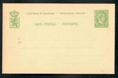 LUXEMBOURG Carte Postale. Light Green. - 20157 - Postcard