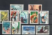 AUSTRALIAN ANTARCTIC TERRITORY 1966 Definitives. Set of 11. - 20253 - UHM
