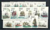 AUSTRALIAN ANTARCTIC TERRITORY 1979 Ships Definitives. Set of 16. - 20284 - UHM