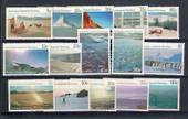 AUSTRALIAN ANTARCTIC TERRITORY 1984 Definitives. Set of 15. - 20286 - UHM