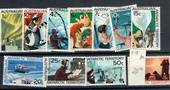 AUSTRALIAN ANTARCTIC TERRITORY 1966 Definitives. Set of 11. Hinge remains. - 20347 - Mint