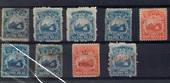 COSTA RICA 1863 Selection of earlies including private overprints and official as referred to in Scott. - 20361 - Mint