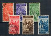 VATICAN CITY 1935 International Medical Congress. Set of 6. The 75L has a dull corner and will need to be replaced. (SG £55). Th