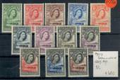 BECHUANALAND 1955 Elizabeth 2nd Definitives. Set of 12. - 20766 - UHM