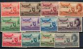 GAZA Egyptian Occupation of Palestine 1949 Air. Set of 12. - 20929 - Mint