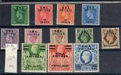 BMA ERITREA 1948 Geo 6th Definitives. Set of 12. - 20945 - UHM