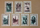 AUSTRALIA 150th Anniversary. Card with 7 cinderellas. - 21508 -