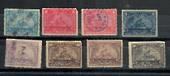 USA 1898 Documentary stamps. 8 values. - 21534 - Fiscal