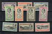 ASCENSION 1934 Geo 5th Definitives. Set of 10. - 21584 - Mint