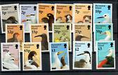 ASCENSION 1996 Definitives Birds. Set of 16. - 21600 - UHM