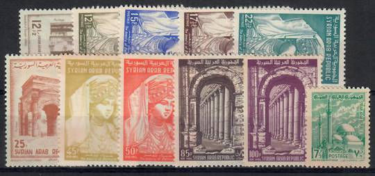 SYRIA 1961 Definitives. The middle values {11}. - 23485 - UHM