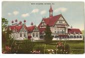 Coloured postcard of Bath Buildinggs Rotorua. - 245908 - Postcard
