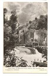 Postcard by Beattie of Okere Falls at Electric Power Station near Rotorua. - 246124 - Postcard