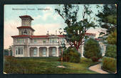 Coloured postcard of Government House Wellington. - 247343 - Postcard