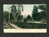 Coloured Postcard by Muir & Moodie of Botannical Gardens Dunedin. - 249102 - Postcard