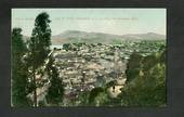 Coloured postcard by Muir and Moodie of Port Chalmers from Cemetery Road. - 249129 - Postcard