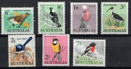 AUSTRALIA 1964 Definitives. Set of 7. - 25808 - UHM