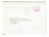 GREAT BRITAIN 1970 Letter from Buck House to the Conservator of Wildlife Department of Internal Affairs. Royal Cachet. - 30033 -