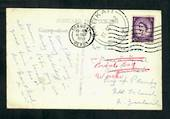 GREAT BRITAIN Postcard to New Zealand. Redirected. Postmark Tauranga  KATIKATI J class. Full strike. - 30047 - PostalHist