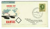 AUSTRALIA 1959 Inauguration of Qantas Boeing Jet Service from Sydney to London. - 30103 - PostalHist