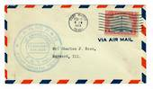 "USA 1929 Airmail. Cachet reads "" C.A.M. NO. 21 & 22 FORT WORTH TEXAS   1ST ANNIVERSARY T.A.T. INC. ""   Clear postmark FORT WORTH"