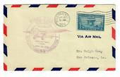 USA 1929 First Airmail Flight from New Orleans to Texas.