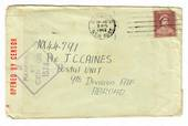 AUSTRALIA 1942 Letter to Postal Unit 9th Division AIF Abroad. Passed by Censor 1574. - 30213 - War