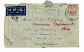 AUSTRALIA 1941 Cover from Johore. Passed by Censor Australian Imperial Force 375. - 30270 - PostalHist