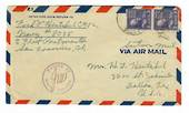 USA 1943 Airmail Letter US Navy. Passed by Naval Censor.