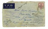 AUSTRALIA 1941 Cover from Johore. Passed by Censor Australian Imperial Force 357. - 30279 - PostalHist
