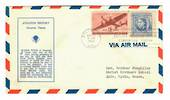 USA 1941 Aviation History No 3. Cover posted from Baltimore to Western Samoa.