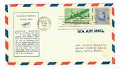 USA 1941 Aviation History No 4. Cover posted from Philadelphia to Western Samoa.