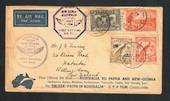 AUSTRALIA 1934 First Official Airmail Australia to New Guinea. Ringwood 20/7/34 Lae 20/7/34 Sydney 1/8/34. - 30827 - PostalHist