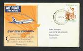 AUSTRALIA 1973 First Flight by Air New Zealand from Sydey to Auckland. - 30830 - PostalHist