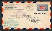 USA 1938 National Airmail Week May 15 to May 21 1938. Airmail Letter from El Paso Texas to Carlsbad New Mexico with two cachets.