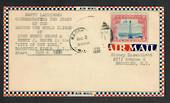 USA 1930 Airmail Letter commemorating the start of the Around the World Flight of J H Mears and H J Brown 2/8/1930. - 30897 - Po