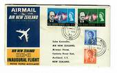 HONG KONG 1966 Air New Zealand Inaugural Flight from Hong Kong to Auckland. - 31050 -