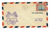 USA 1929 Western Aircraft Show. Special cachet on airmail letter. - 31063 -