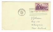 USA 1942 150th Anniversary of Kentucky on first day card. Very tidy. - 31105 - FDC