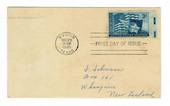 USA 1945 Centenary of the Statehood of Texas on first day cover. Nice card. - 31159 - FDC