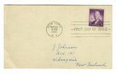 USA 1945 Alfred E Smith Governor of New York on first day cover. Nice card. - 31160 - FDC