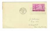 USA 1944 Centenary of the First Telegraph Message on first day cover. Nice card. - 31161 - FDC
