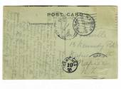 USA 1922 Postcard of from New Orleans with To Pay markings. Stamps removed. - 31188 - PostalHist