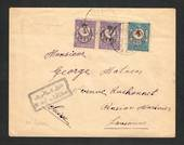 TURKEY 1917 Letter to Switzerland. From Constaninople (Postmark Stanboul). Censor cachet on the front. Backstamp Lausanne 11 Gar