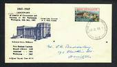 NEW ZEALAND Postmark Hamilton FIVE CROSS ROADS. J Class cancel on 1965 commemorative cover. - 31429 - Postmark