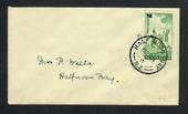 NEW ZEALAND 1939 Health 1d Green on cover postmarked HALF MOON BAY. - 31484 - Postmark