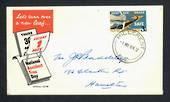 NEW ZEALAND Postmark Hamilton HILLCREST. J Class cancel on 1964 Road Safety first day cover. - 31517 - Postmark
