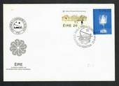 IRELAND 1983 Bicentenary of the Bank of Ireland and the Chamber of Commerce. Set of 2 on first day cover. - 31852 - FDC