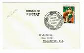 AUSTRALIAN ANTARCTIC TERRITORY 1969 Opening of Repstat. Special Postmark on cover. - 32015 - PostalHist